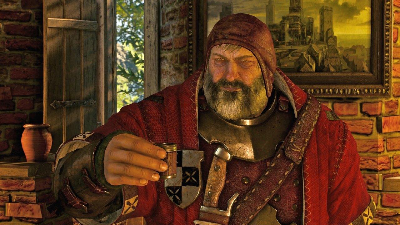Barão Sanguinário, personagem de The Witcher 3.