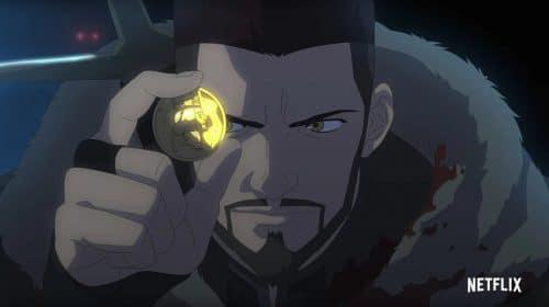 Novo trailer de The Witcher: Lenda do Lobo mostra Vesemir em batalhas épicas