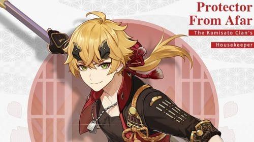 Thoma, novo personagem pyro de Genshin Impact, é revelado