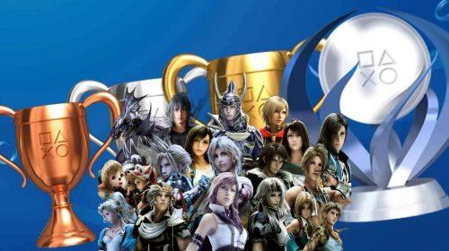 Fã demora 10 anos para conquistar todos os troféus de Final Fantasy para PlayStation