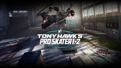 Tony Hawk's Pro Skater 1+2 pode ser um dos jogos do PS Plus de setembro [rumor]