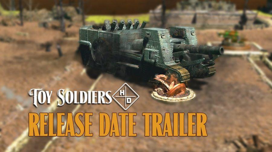 Toy Soldiers HD é adiado para setembro no PlayStation 4