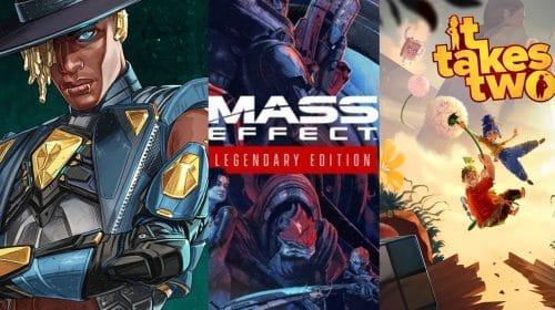 Apex Legends, It Takes Two e Mass Effect alavancam receitas da EA