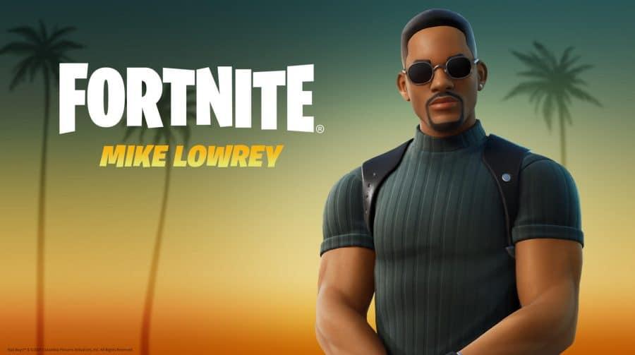 Fortnite recebe skin de Will Smith como o policial Mike Lowrey, de Bad Boys