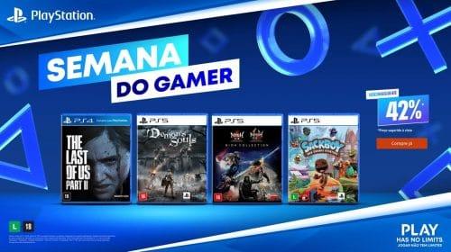 The Last of Us 2, Demon's Souls e mais! PlayStation oferece descontos de até 42% na Semana do Gamer