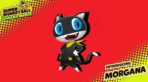 Morgana, de Persona 5, será um personagem jogável em Super Monkey Ball: Banana Mania
