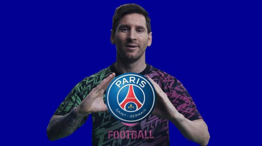 Chegada de Messi ao PSG pode causar um pequeno conflito entre Konami e EA