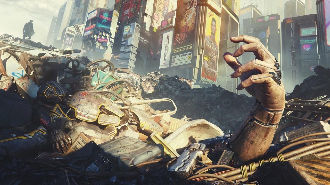 Arte oficial de Cyberpunk2077.