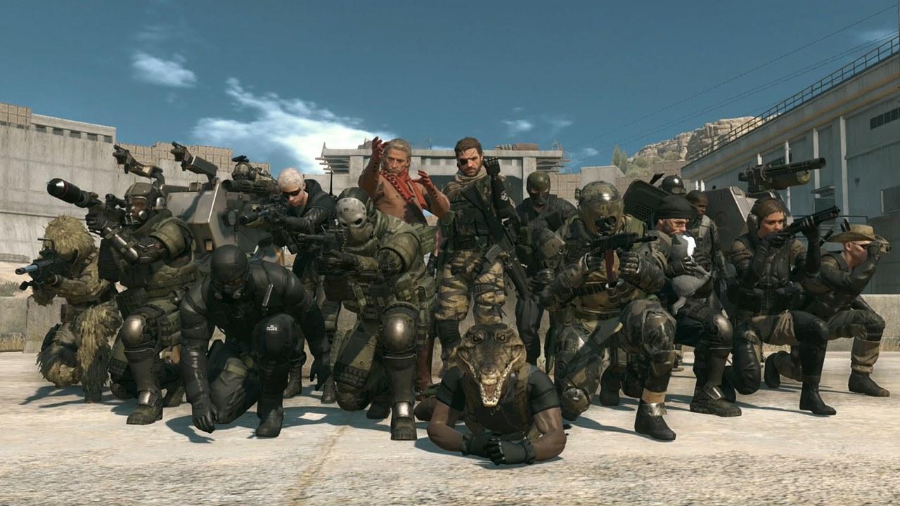 Jogadores do modo online de Metal Gear Solid V.