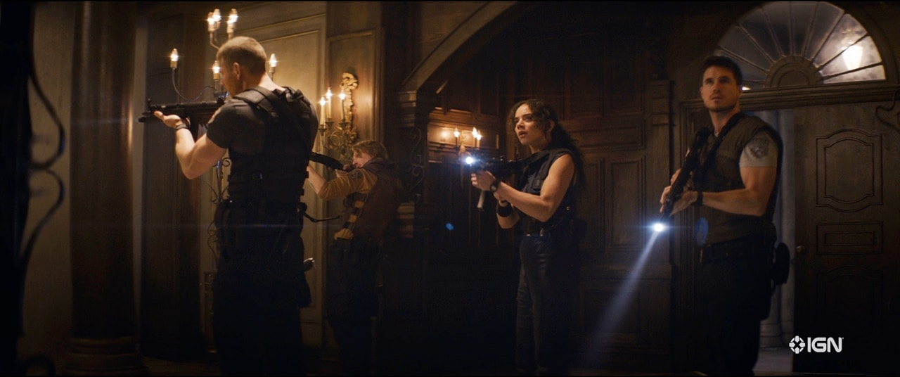 Cena do filme de Resident Evil