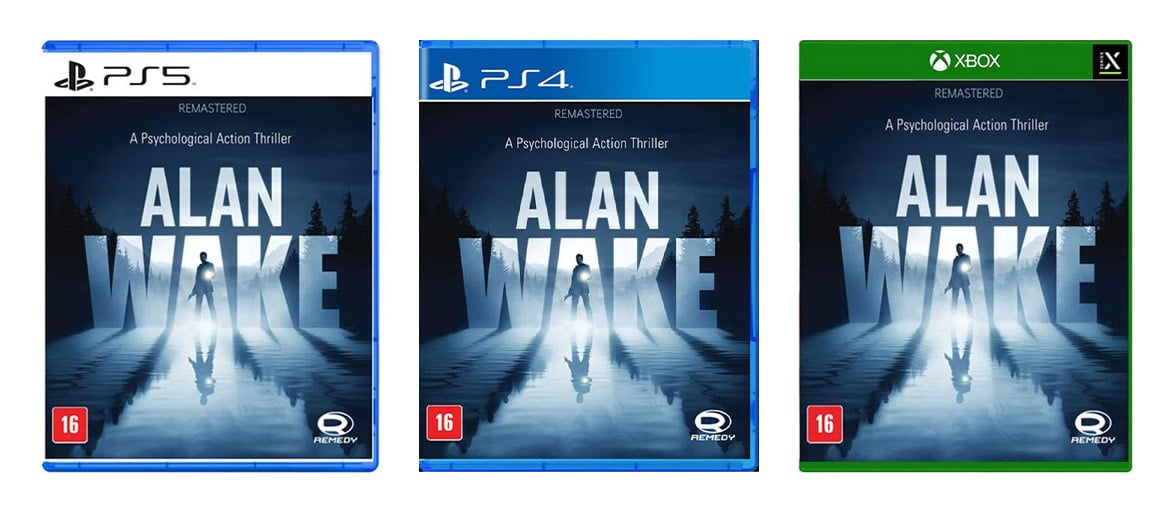 ALAN WAKE PS5 e PS4