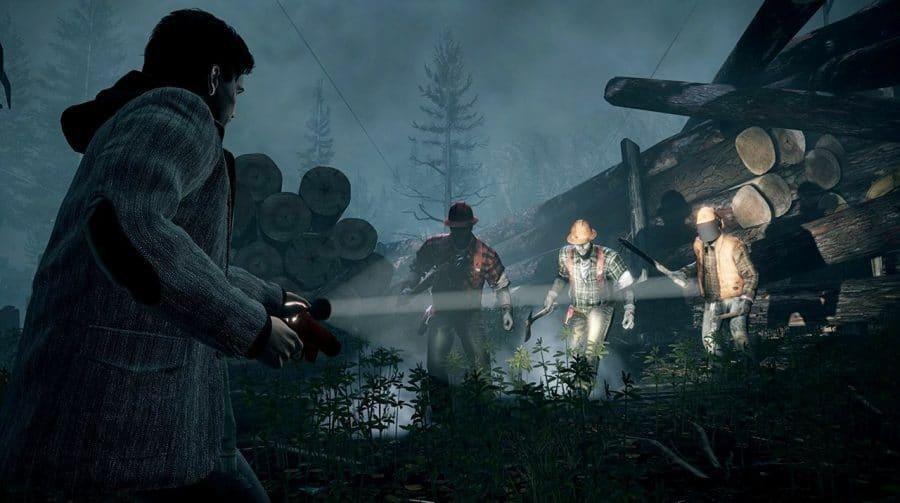 Com gráficos e texturas mais definidas, primeiro gameplay de Alan Wake Remastered é revelado