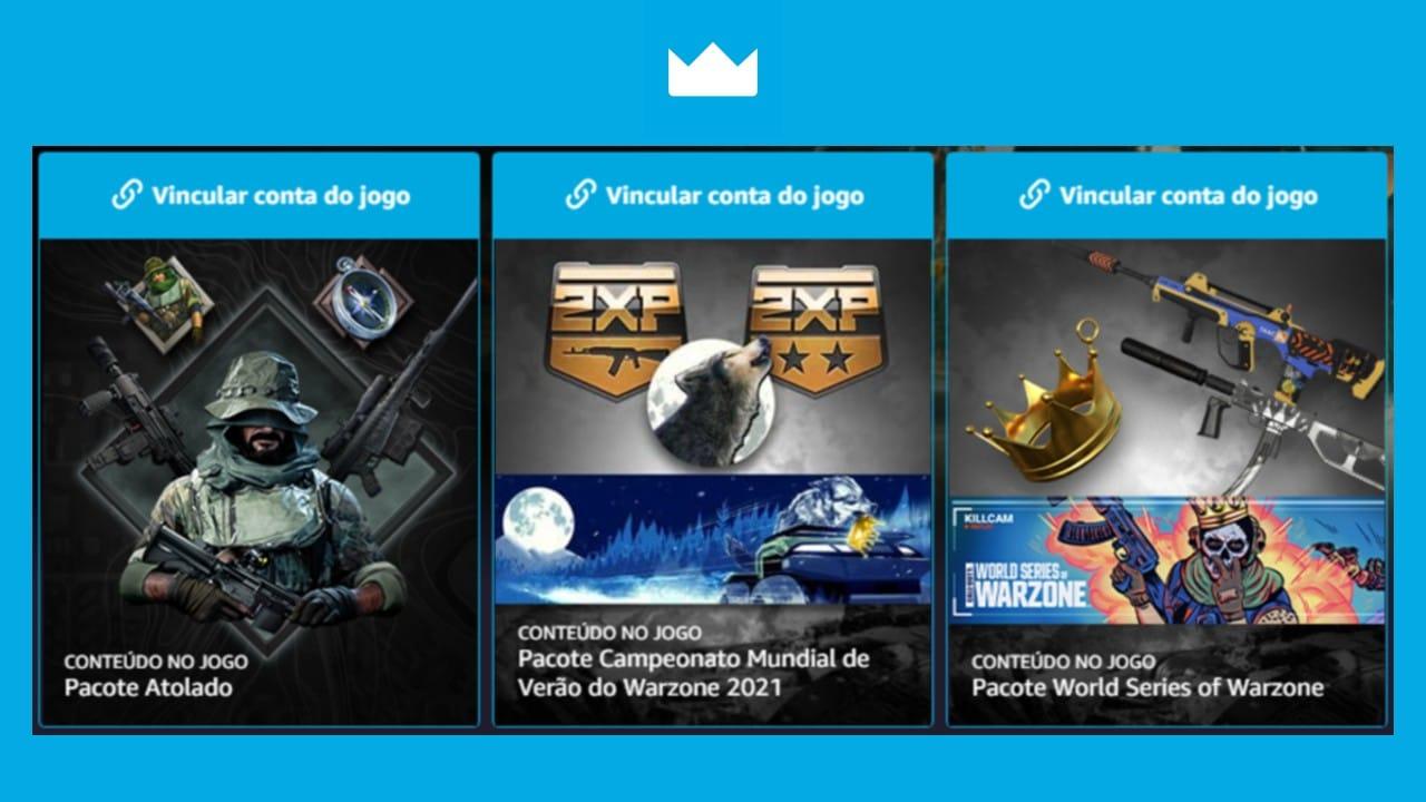 Amazon Prime Gaming - Call of Duty: Cold War e Warzone