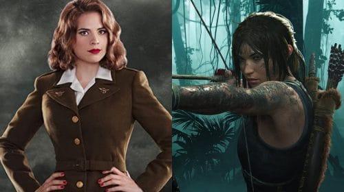 Atriz de Agente Carter dublará Lara Croft em anime de Tomb Raider