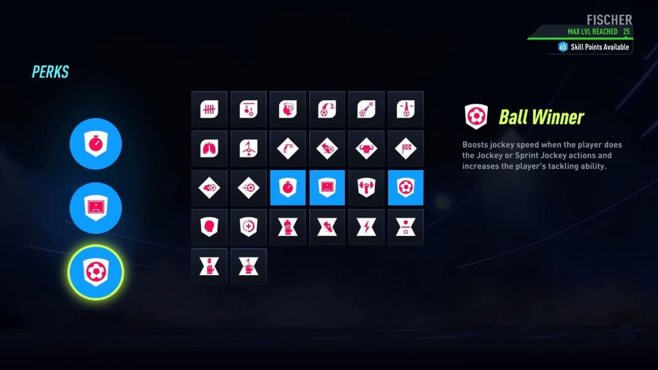 Arquétipos do Pro Clubs de FIFA 22