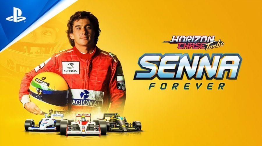 Ayrton Senna do Brasil! Lendário piloto chega ao Horizon Chase Turbo em outubro