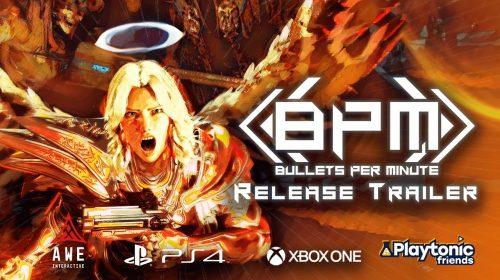 Rápido, frenético e rítmico: BPM: Bullets Per Minute chega em outubro ao PS4