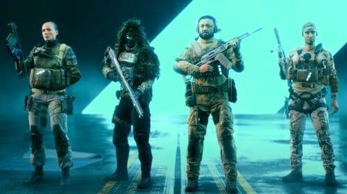 Trailer de Battlefield 2042 introduz as classes Assalto, Suporte, Engenheiro e Reconhecimento