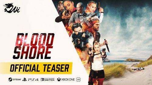 Bloodshore, filme interativo de battle royale, chega em novembro ao PS4 e ao PS5