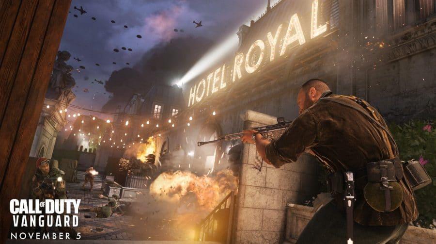 Call of Duty: Vanguard oferece um multiplayer bem competente e parecido com Modern Warfare