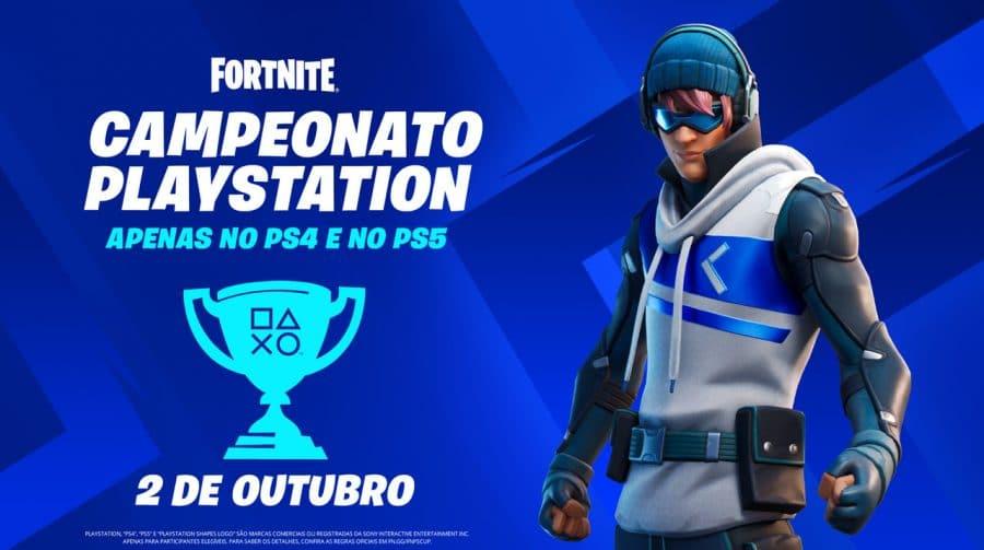 Campeonato PlayStation de Fortnite premiará jogadores com até US$ 1.200