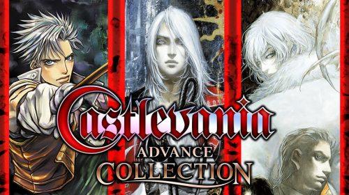 Com melhorias, Castlevania Advance Collection já está disponível para PS4
