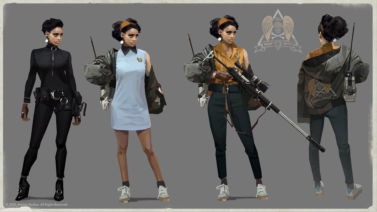 Arkane detalha como deu vida a Colt e Julianna, principais personagens de Deathloop