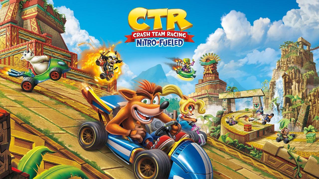 CTR Nitro Fueled - os melhores jogos de carro para PS4
