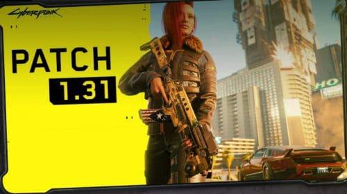 Patch 1.3.1 de Cyberpunk 2077 otimiza desempenho no PlayStation
