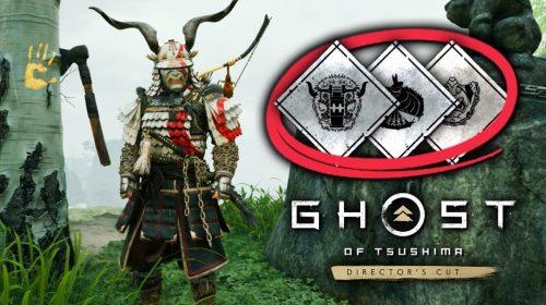 Easter egg de God of War em Ghost of Tsushima Director's Cut