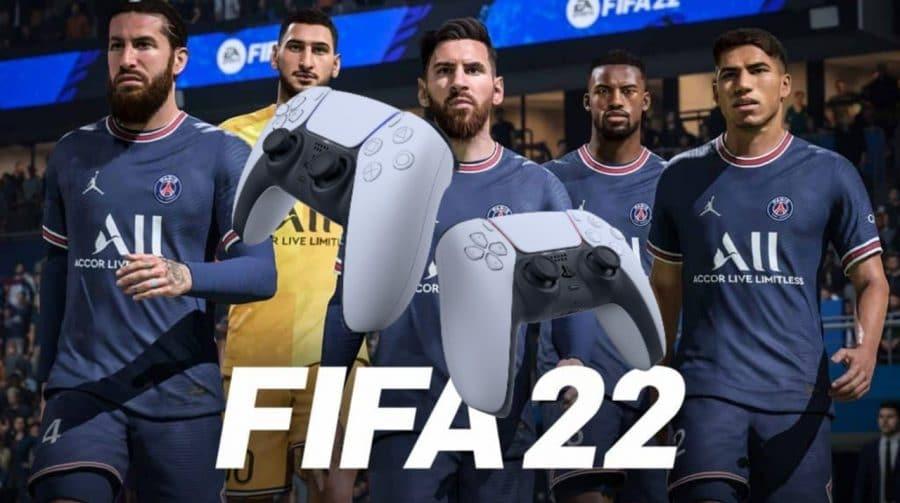FIFA 22: feedback tátil do DualSense entregará mais interações em relação ao FIFA 21