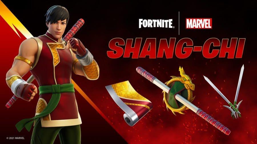 Fortnite: skin de Shang-Chi está disponível; veja como conseguir