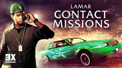 GTA Online traz triplo de recompensas nas Missões de Contato do Lamar