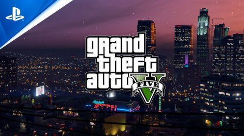GTA V de PS5 chega em março de 2022; veja o novo trailer