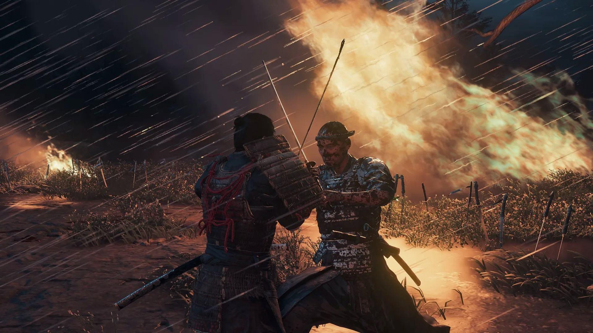 Ghost of Tsushima - samurais no 1x1