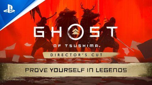 Trailer de Ghost of Tsushima: Lendas destaca o novo modo