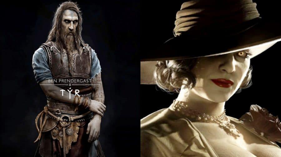Briga de Gigantes! Tyr, de God of War Ragnarok, é mais baixo que Lady Dimitrescu