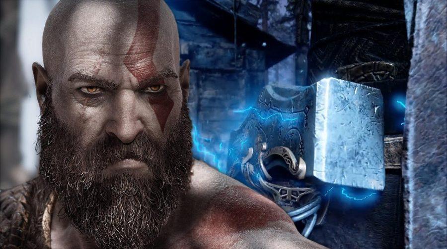 INCRÍVEL! Sony revela o primeiro gameplay de God of War: Ragnarok