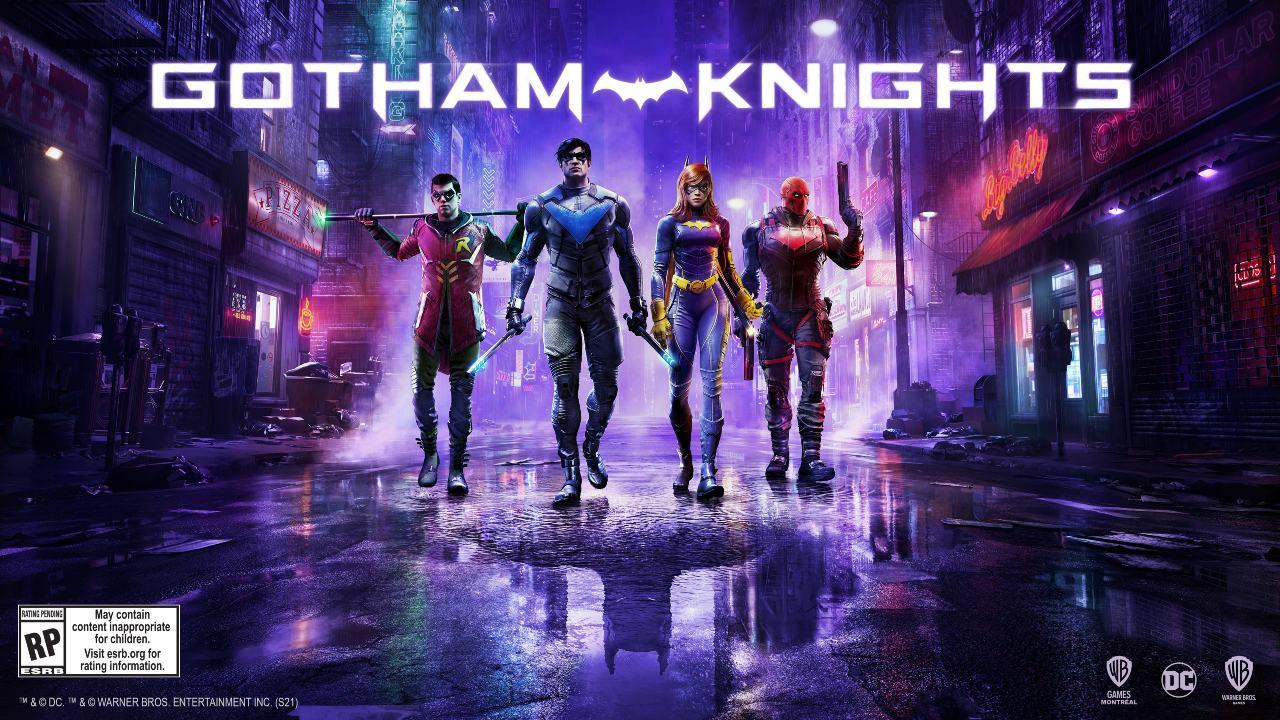 Gotham Knights - os quatro justiceiros