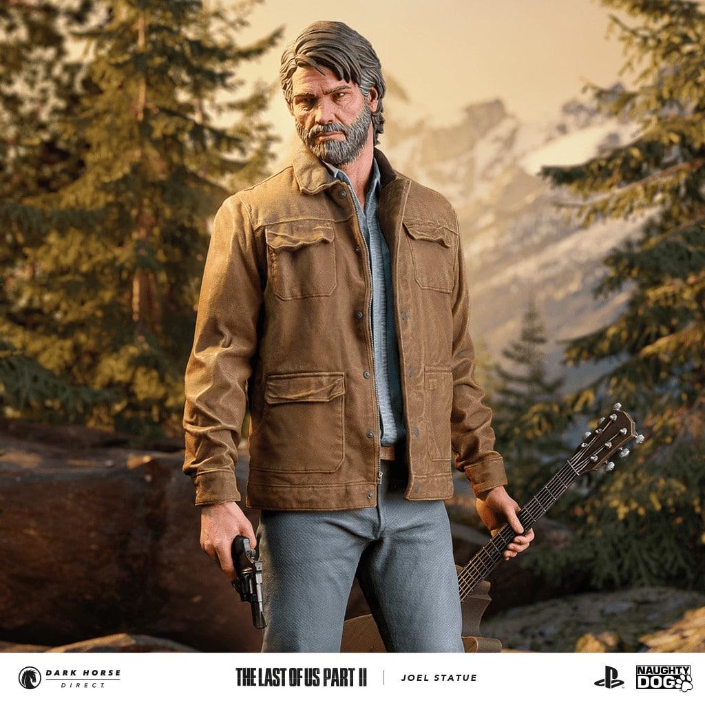 Joel The Last of Us Part II estatua