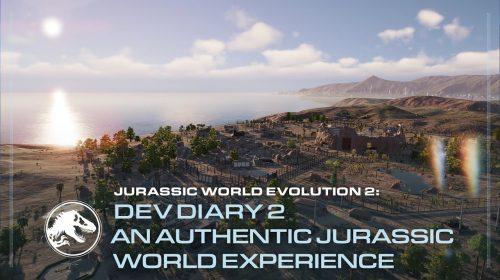 Novo trailer de Jurassic World Evolution 2 traz detalhes da campanha