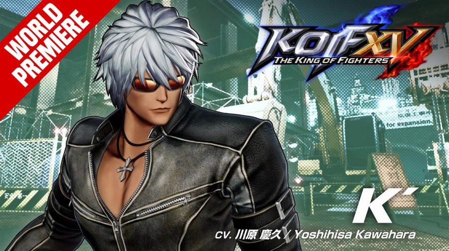 K' é o segundo lutador de The King of Fighters XV anunciado nesta quinta (30)