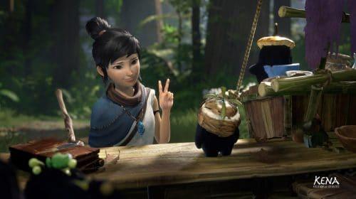 Primeiro update de Kena: Bridge of Spirits corrige o erro da máscara Taro