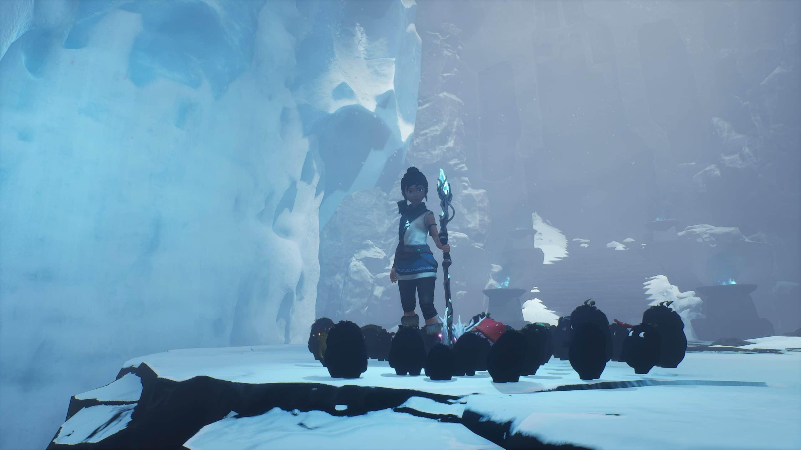 Jogo também tem cenas na neve (Foto: Reprodução/Thiago Barros)