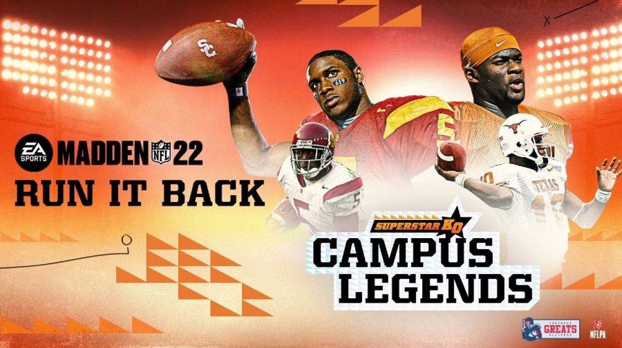 EA Sports traz lendas dos jogos universitários para Madden NFL 22