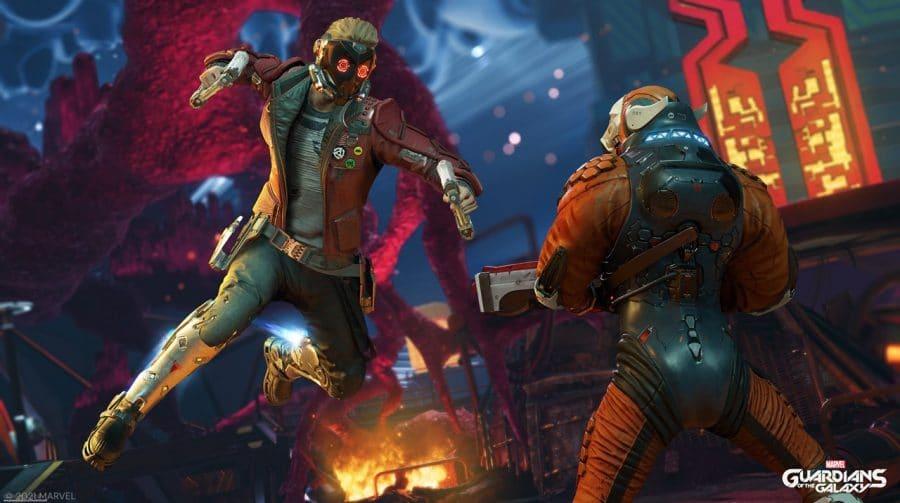 Novo trailer de Marvel's Guardians of the Galaxy detalha exploração e combate