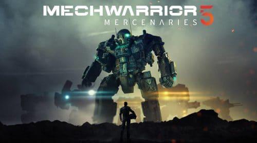MechWarrior 5: Mercenaries será lançado no final do mês no PS4 e no PS5