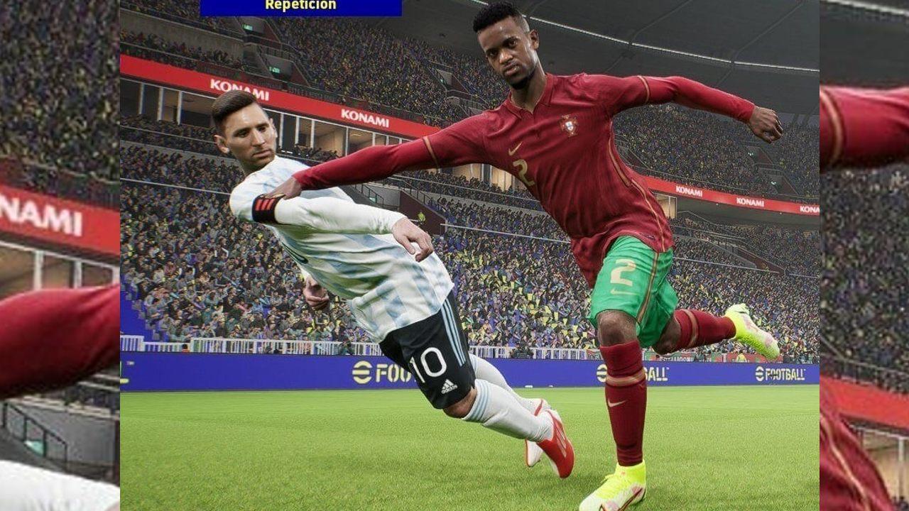 Messi - bugs de efootball 2022