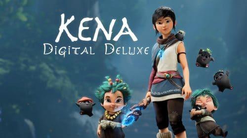 Kena: Bridge of Spirits terá mídia física da Deluxe Edition em novembro