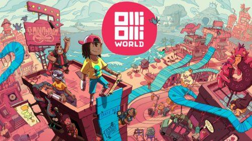 Roll 7 comenta sobre OlliOlli World a 120 FPS no PS5 e apresenta novo bioma